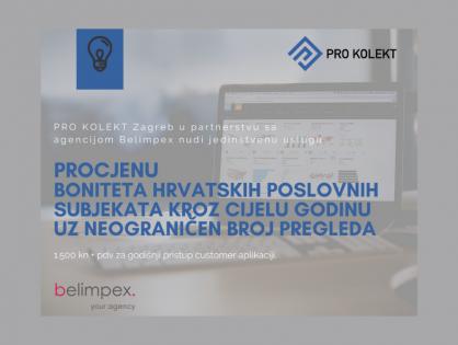 Suradnja Belimpexa i tvrtke Pro Kolekt Zagreb